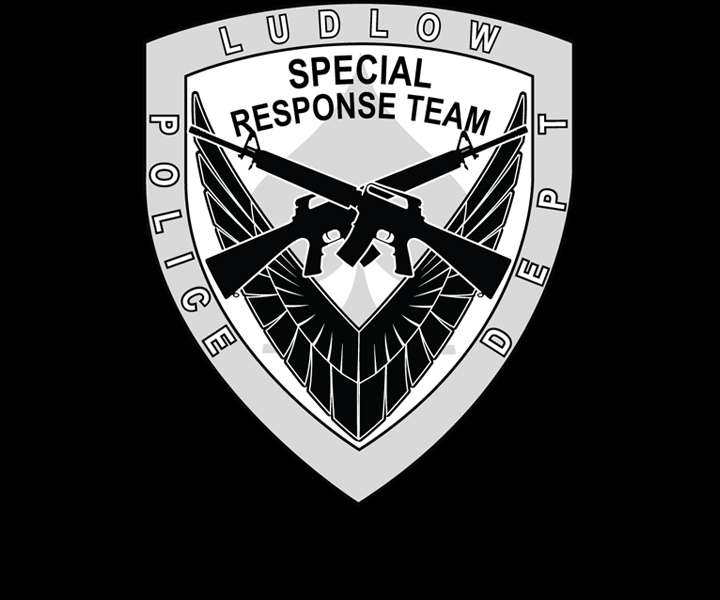 Ludlow Police Department's Special Response Team Badge