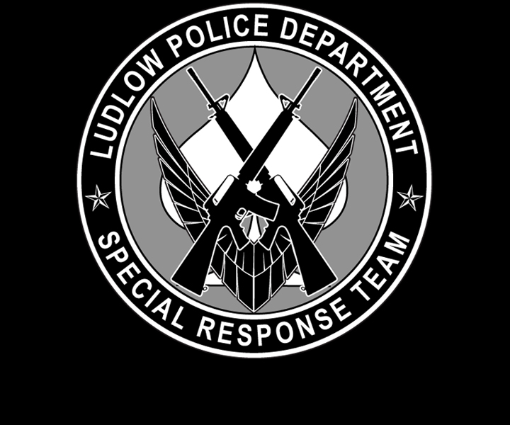 Ludlow Police Department's Special Response Team Coin